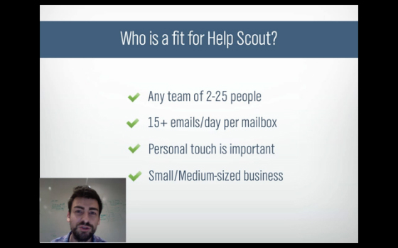 Help SCout Webinar Screenshot