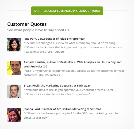 How to create captivating customer testimonials for Business testimonial template