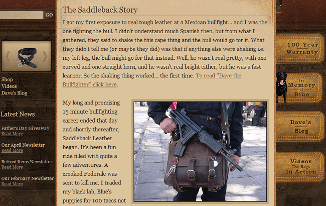 Saddleback Story Screenshot