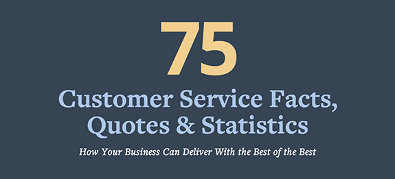 75 Customer Service Facts, Quotes and Statistics