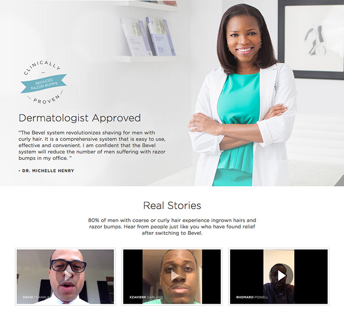 Bevel-Dermatologist Approved