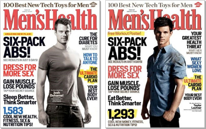 Mens Health Cover Comparison
