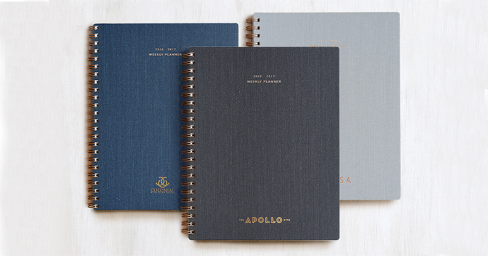 Appointed custom notebooks