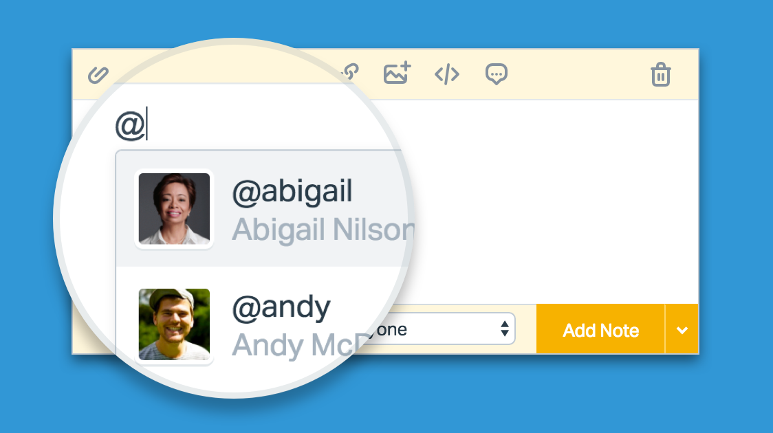 New Feature: @mentions are live in Help Scout