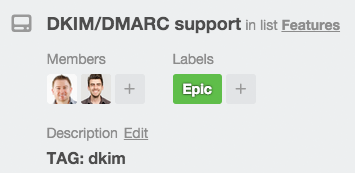 tags in trello cards