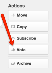 Voting in Trello