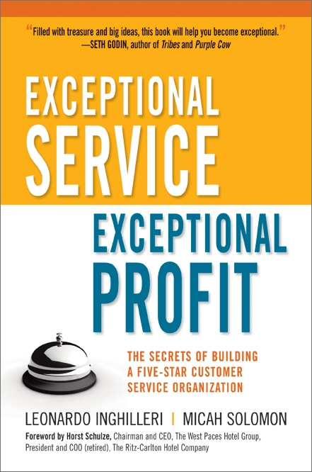 Exceptional Service, Exceptional Profits cover