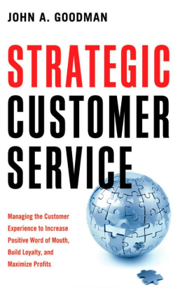 Strategic Customer Service cover