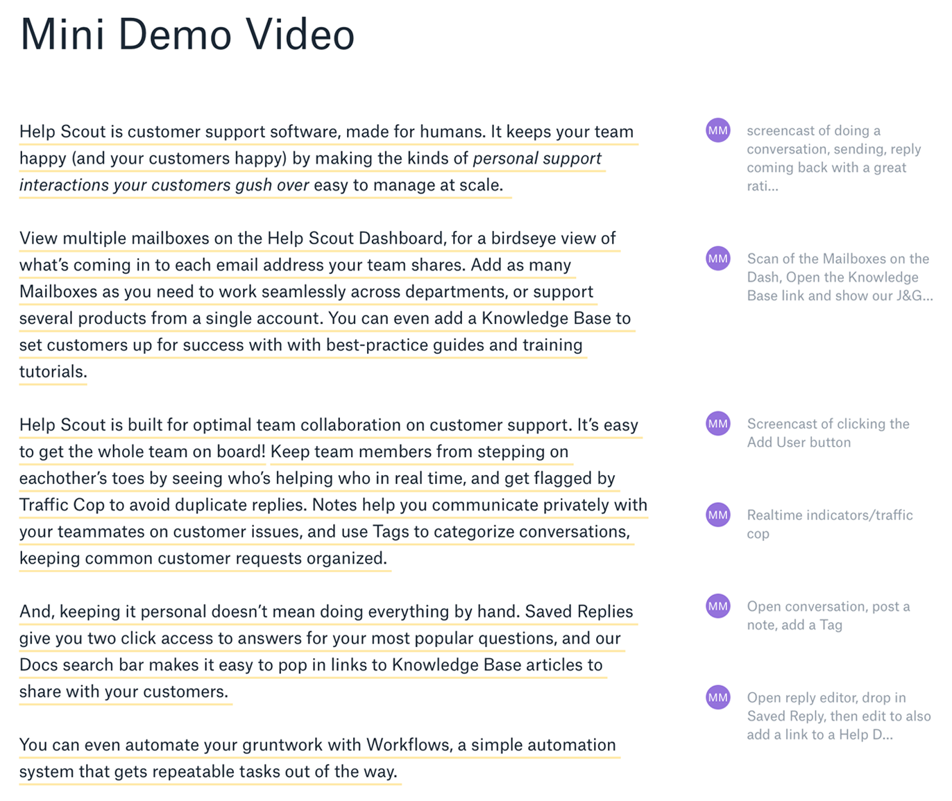 How to Create Video for Your Help Docs