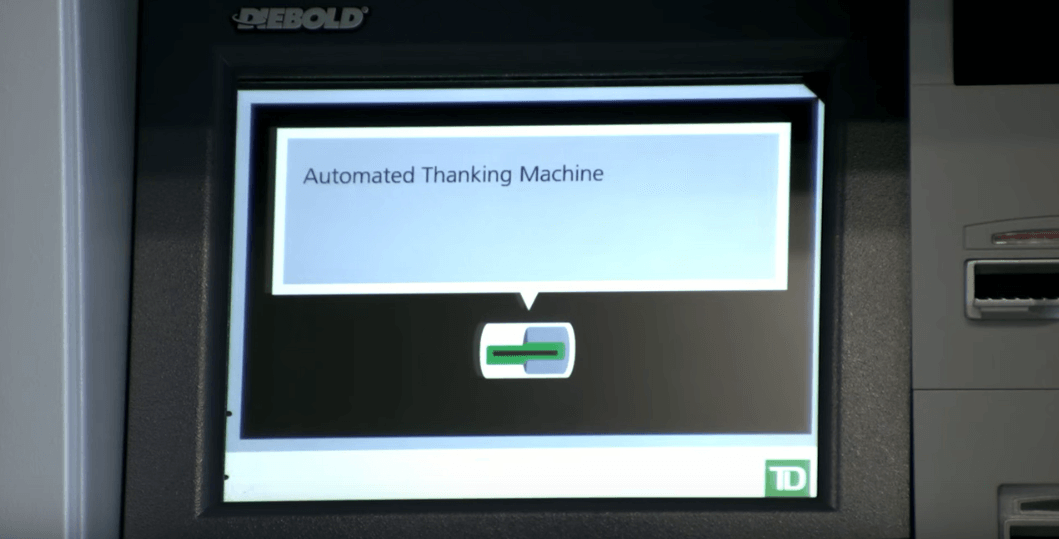 Automated Thanking Machine