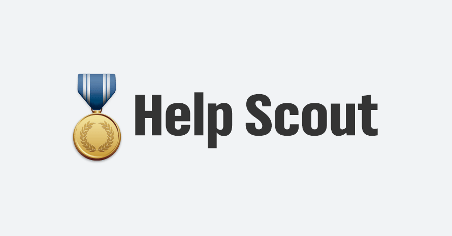Help Scout full logo - medal version