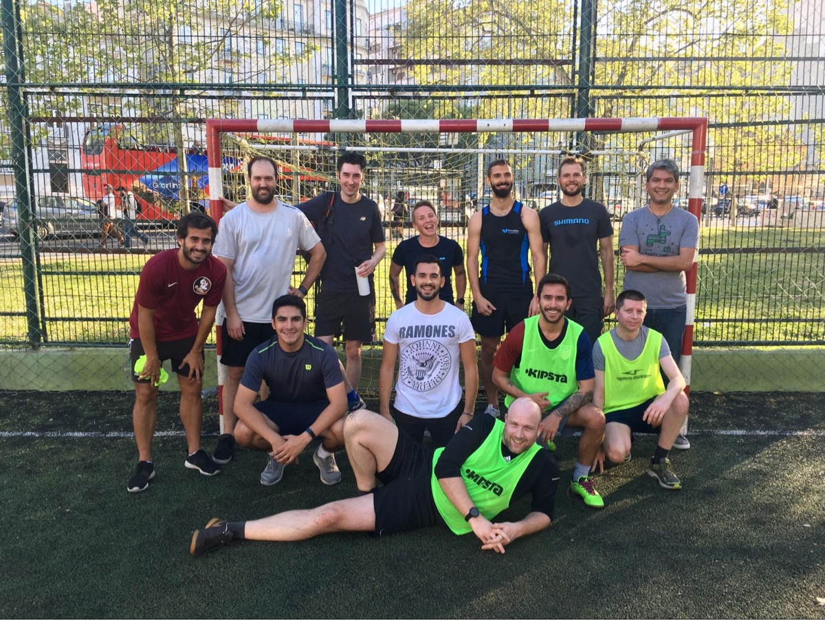 Help Scout's soccer (or football, depending!) players after a friendly match in Lisbon, Portugal