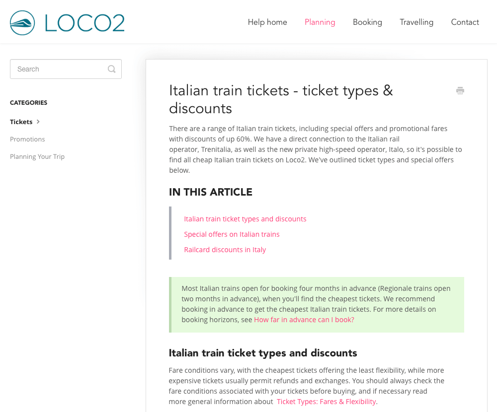 Loco2 Knowledge Base