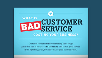 Infographic: What is Bad Customer Service Costing Your Business?