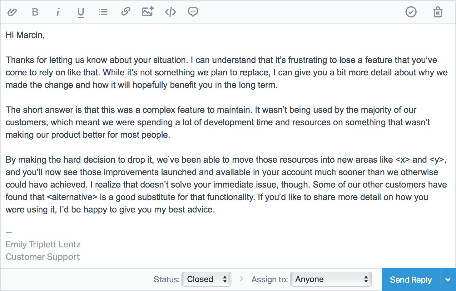 Awesome Thank You Letter To Customer For Their Support How To Format A Cover Letter